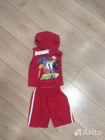 Новые летние костюмы на мальчика, 1 год 89043857679 купить 1