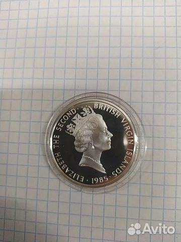 Британские Виргинские острова 20 долларов 1985 год