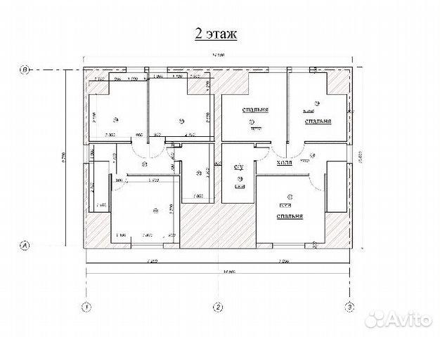 Таунхаус 114 м² на участке 8 сот. 89156423529 купить 4