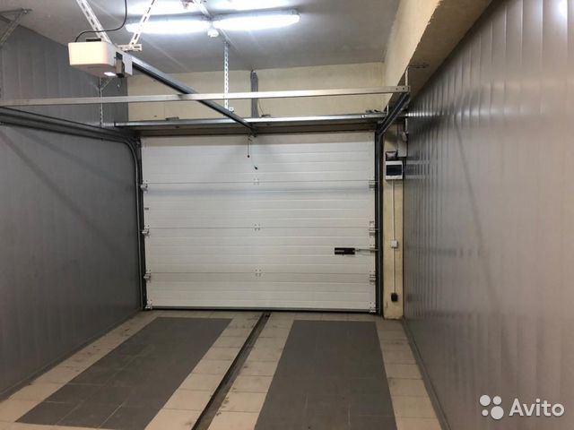 The garage of 22 m2