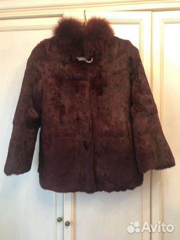 89183803858 Fur jacket rabbit fur