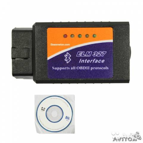 ELM327 OBD2 Bluetooth под Android