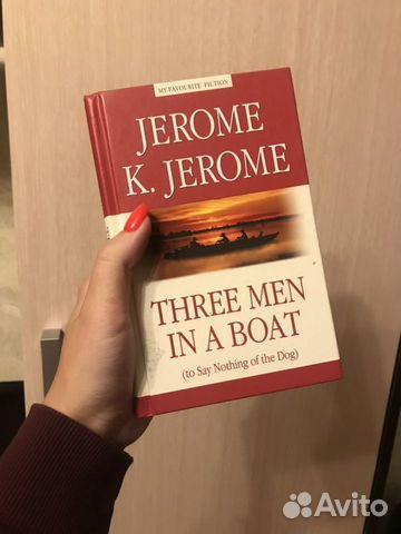 Книга Three Men in a Boat 89250806501 купить 1