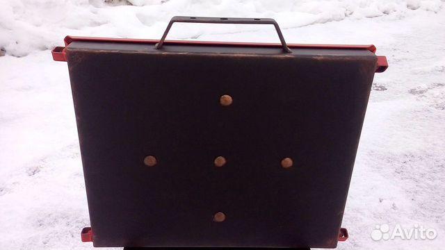 Мангал чемодан раскладной купить 3