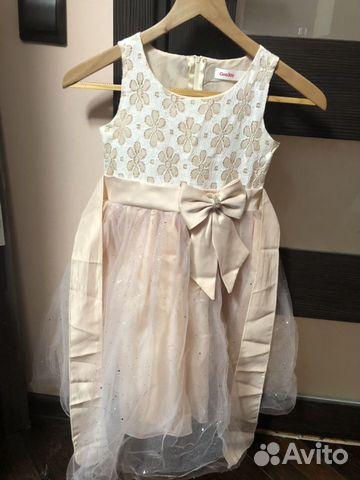 Нарядное пышное платье 89082680032 купить 1