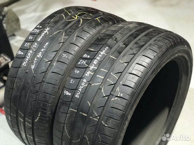 89380001718 275/40/21 Dunlop SP Quattro Maxx (5 mm) - 2 шт