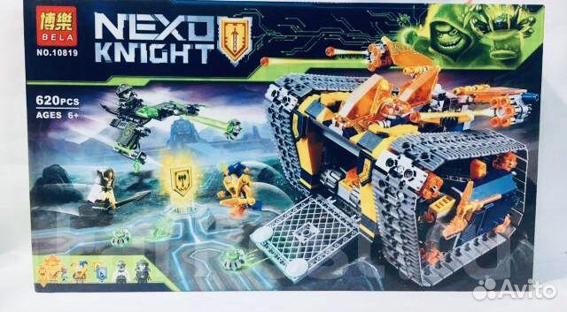 Конструктор Лего Нексо новый 620 деталей