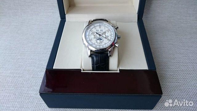 89525003388  Мужские наручные часы Датограф Patek Philippe с са