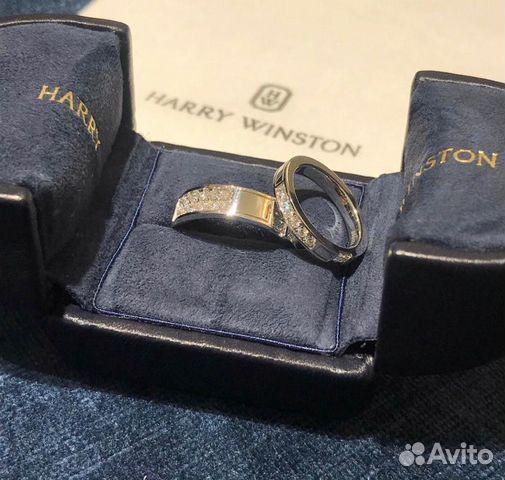 Обручалки Harry Winston 0.89 ct
