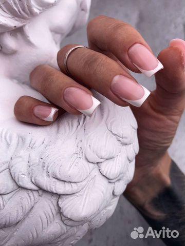 Маникюр наращивание ногтей купить 6