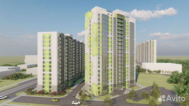 2-room apartment, 50.8 m2, 16/16 FL. 89132100033 buy 2
