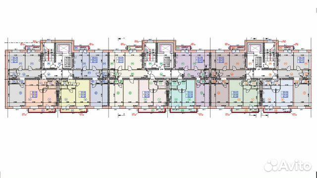 1-к квартира, 41.4 м², 5/9 эт. 89301325106 купить 7