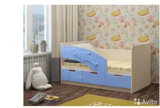 Кровать детская 89148015363 купить 1