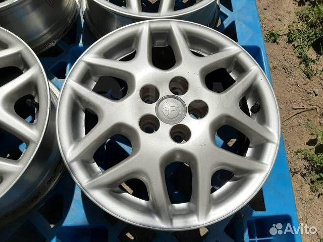 Оригинальные диски R15 Toyota  купить 3