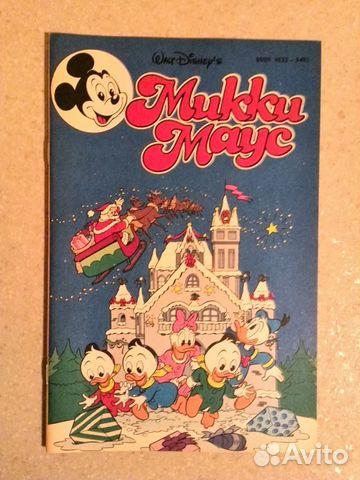 Комиксы Микки Маус 1992 г  89608193988 купить 9