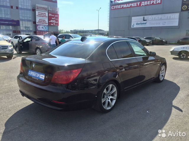 BMW 5 серия, 2008  89825110176 купить 7