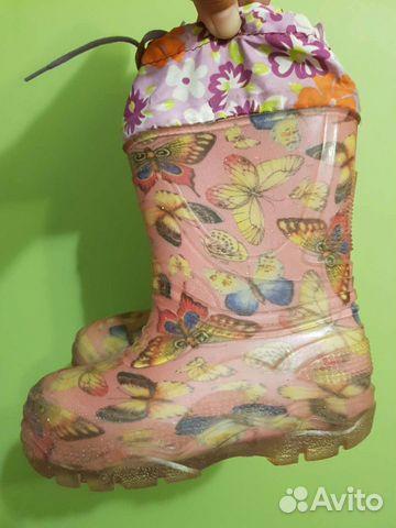 Резиновые сапоги 15,7 см  89370717526 купить 1