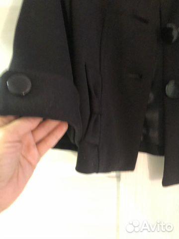 Пальто укороченное новое, размер 44