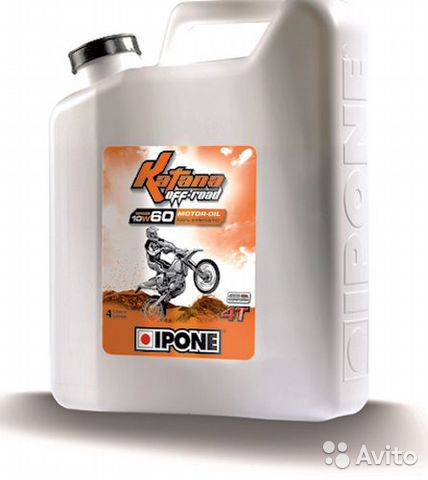 Масло Ipone Katana Off-Road 10W50 синтетика 4L— фотография №1