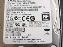HP Pavilion G6 и жёсткий диск toshiba 1TB