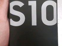 SAMSUNG S10 перламутр 128gb