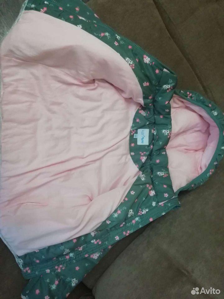 Куртка демисезонная для девочки  89141202061 купить 3