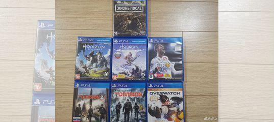 Диски sony PS4