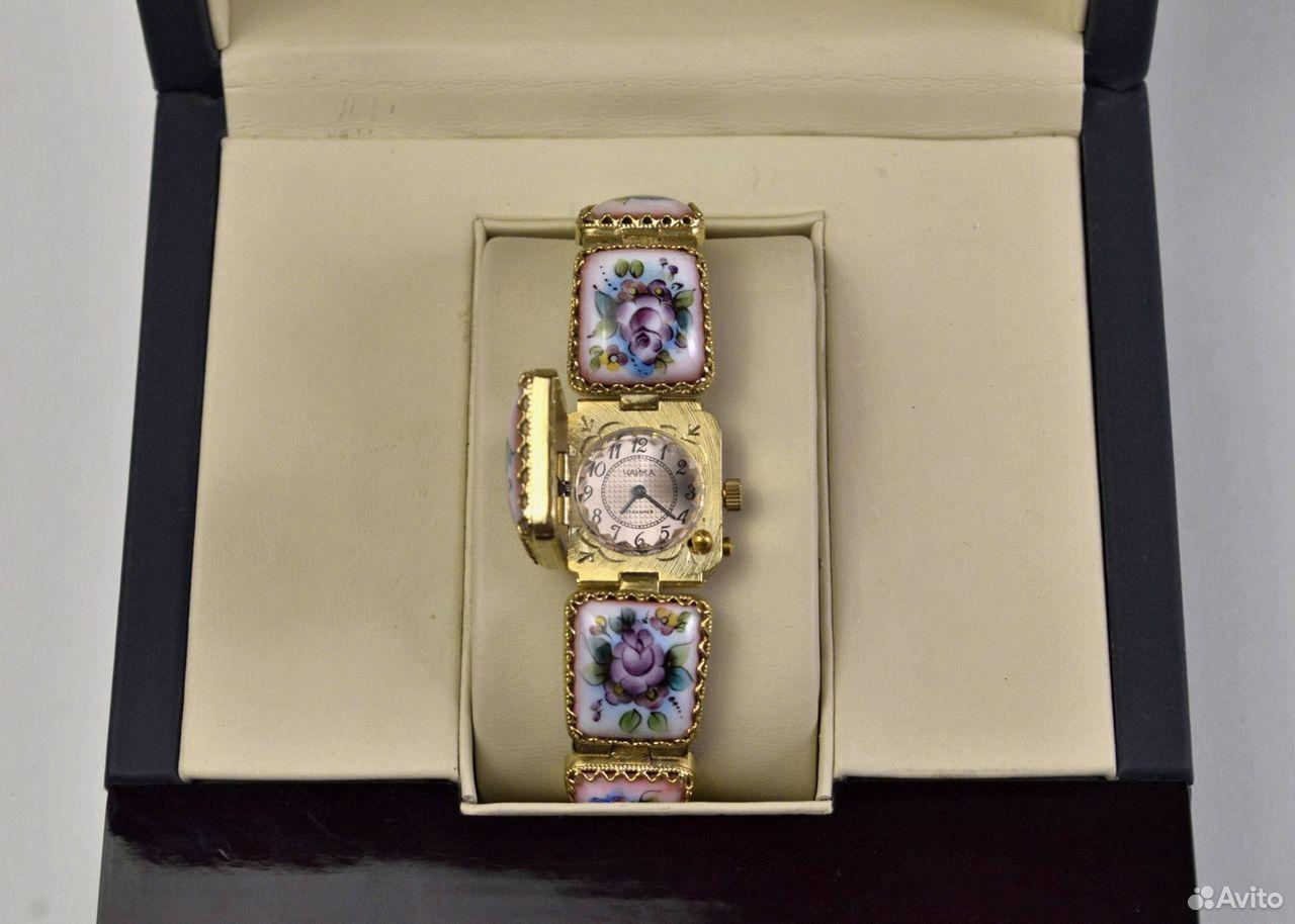 Женские часы Чайка Новые 17 камней Россия 1998 год  89525003388 купить 4