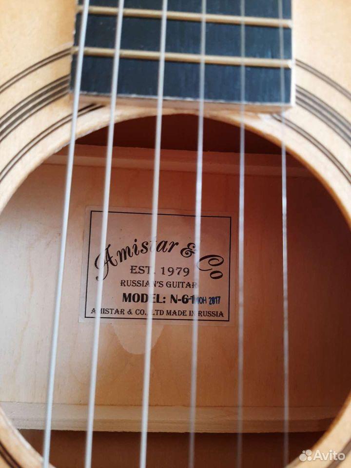Новая гитара Amistar&co n-61. Производство Россия  89614767626 купить 6
