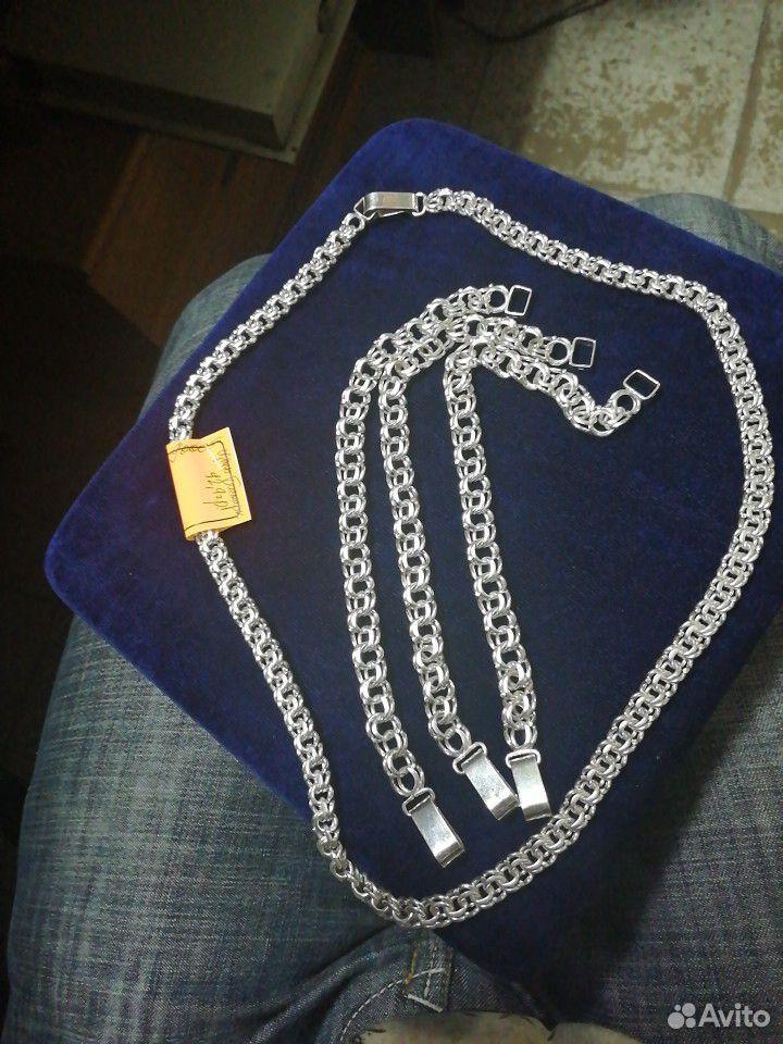 Серебряные браслеты Bismark 925 пробы. Новые от  89118641255 купить 1