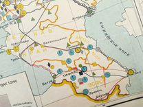 1928 год СССР карта
