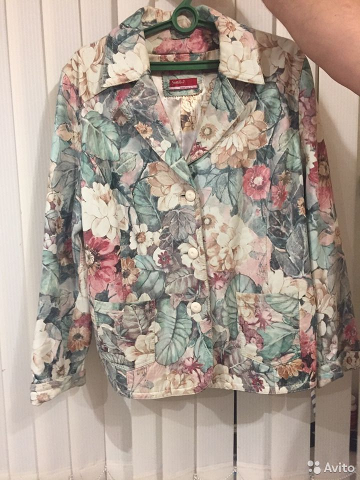 Пиджак- френч кожаный  89103406550 купить 1
