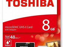 Toshiba Exceria M301 microsdhc UHS-I 8GB