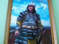 Портрет на холсте в образе Липецк