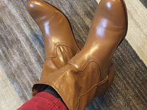 Ботинки осенние натур кожа