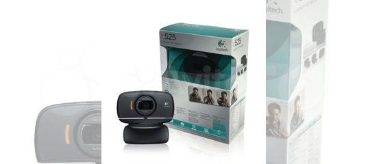 Logitech C525 веб-камера HD купить в Московской области с доставкой | Бытовая электроника | Авито