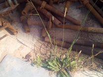 Леса секционные с раскосинами вилками и резьбами