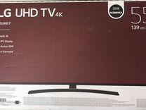 Телевизор LG 55UK6710 (врш)