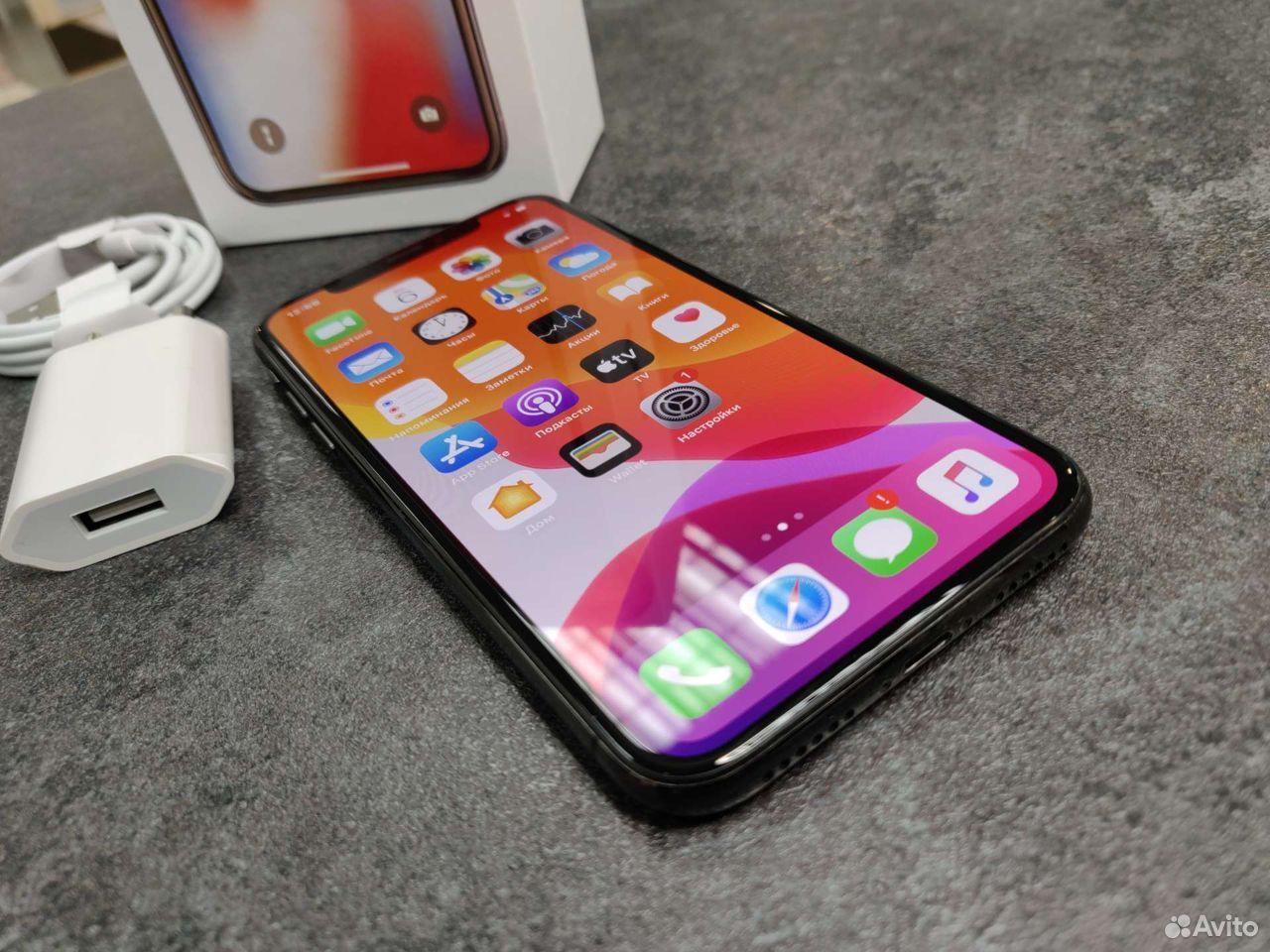 Телефон iPhone X 256Gb / 88акб Оригинал арт 6587  84012522229 купить 4