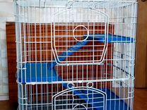 Клетка для грызунов (шиншиллы, хомяка, морской сви
