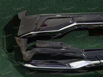 Обвес Modellista Lexus LX450d 2 трубы с 16г черный