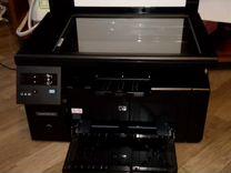 HP LaserJet Pro M1132 с двумя картриджами