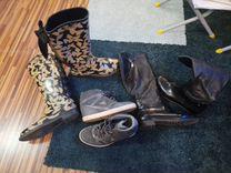 Сапоги, ботинки — Одежда, обувь, аксессуары в Москве