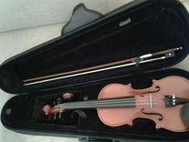 Скрипка 1/2,смычок,футляр