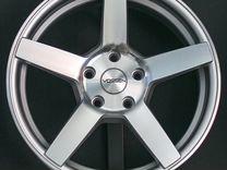 Новые диски Vossen CV3 R17 на Subaru, Rapid, Polo