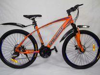 Новый велосипед иж-байк гранд 26 оранжевый