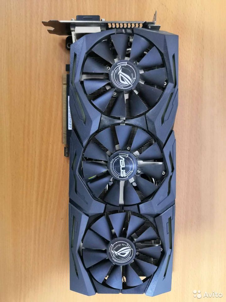 Видеокарта Strix-GTX1080  89091867660 купить 1