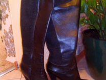 Итальянские кожаные сапоги Loriblu