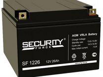 Аккумулятор Security Force SF 12v26ah