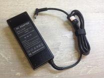 Блок питания для ноутбука HP 19.5V 4.62А тонкий